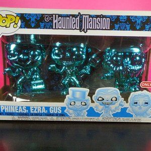 the haunted mansion 3pk target exclusive funko pop